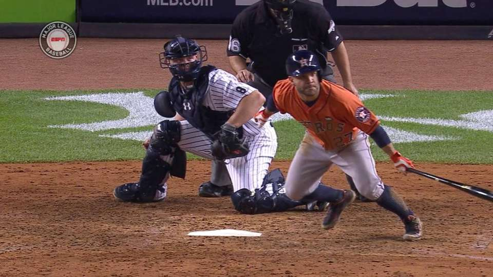 Altuve's RBI single