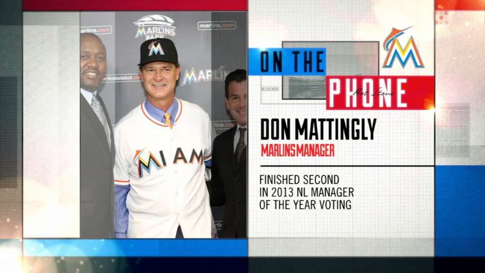 Mattingly joins Hot Stove