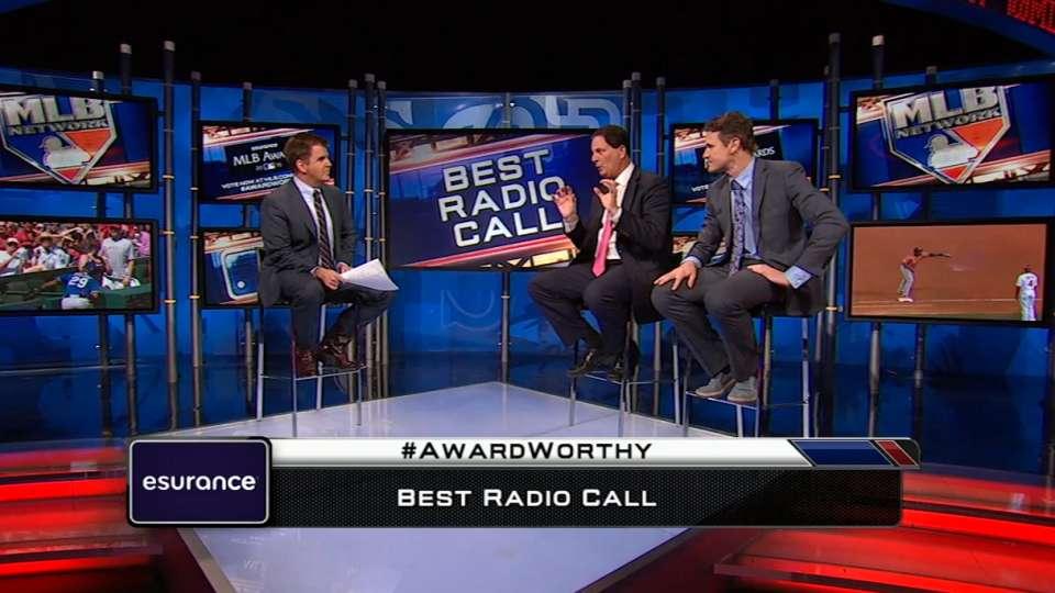 MLB Awards: Best Call, Radio
