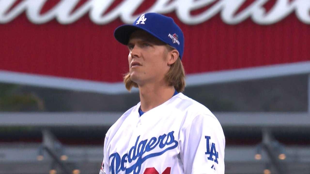 Dodgers make Zack Greinke qualifying offer  42f1155f8