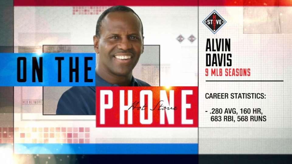 Alvin Davis calls Hot Stove