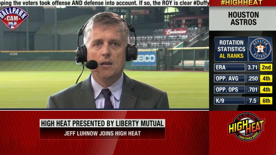 Jeff Luhnow joins High Heat