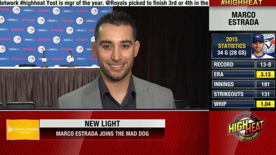 Marco Estrada joins Mad Dog