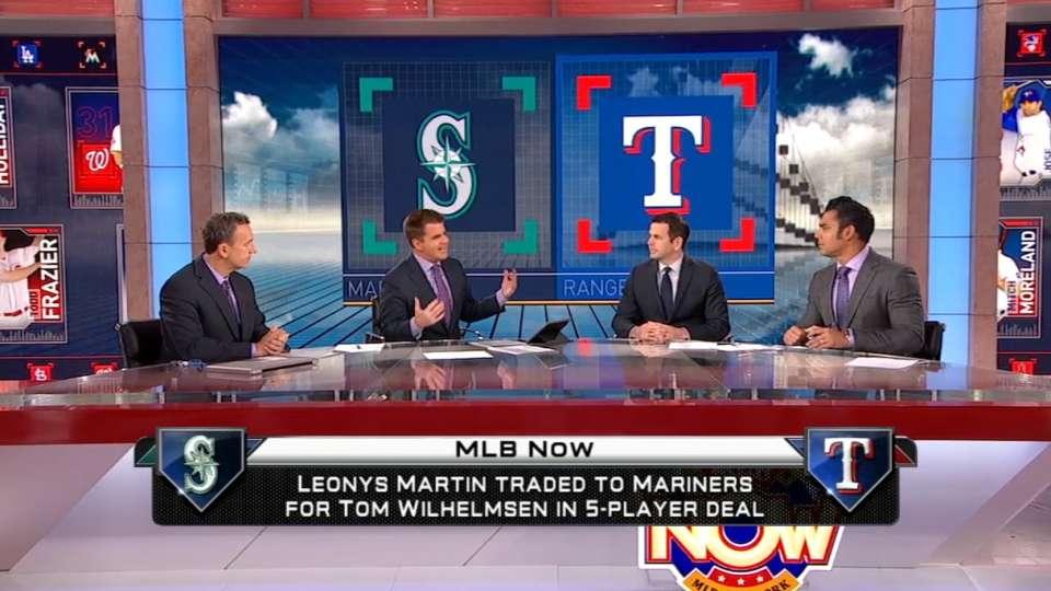 MLB Now on Rangers-Mariners swap