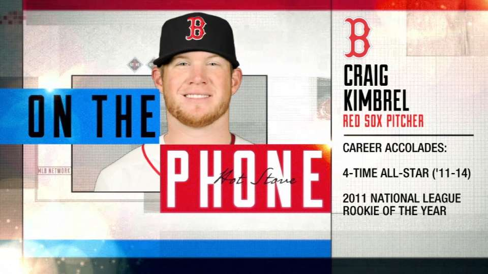 Kimbrel on thriving in Boston