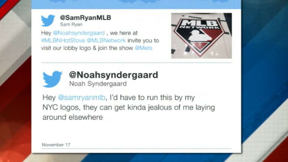 Syndergaard responds to Sam Ryan