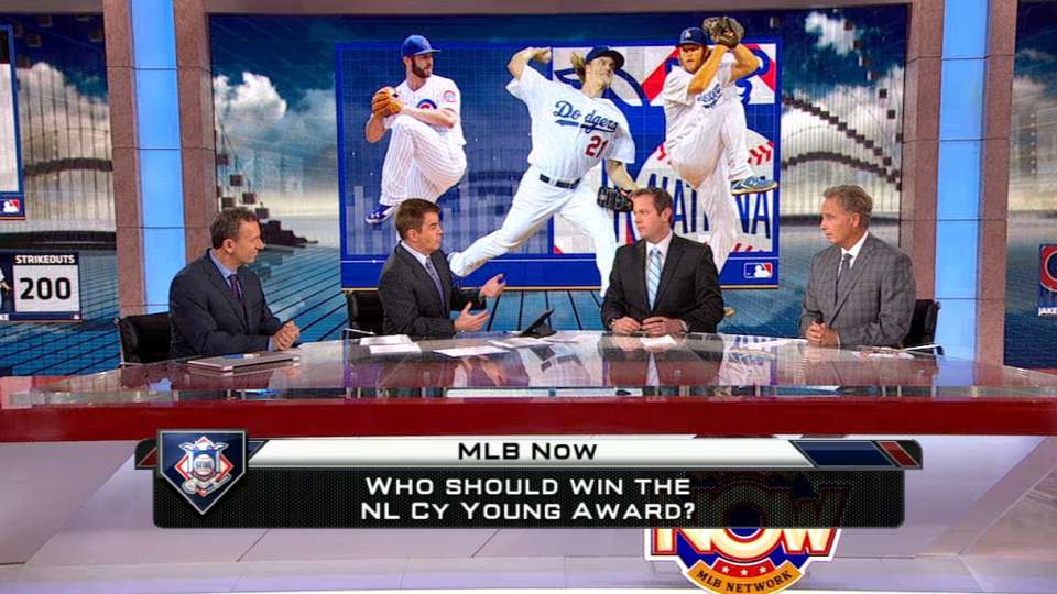 MLB Now on Cy Young races