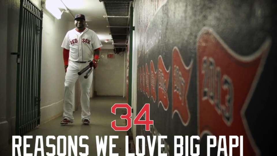 34 reasons why we love Big Papi