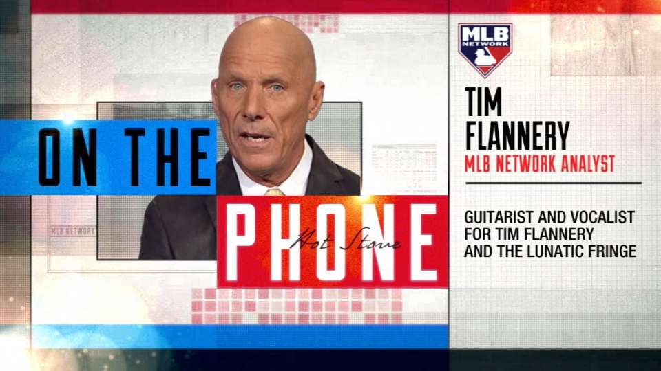 Tim Flannery joins Hot Stove
