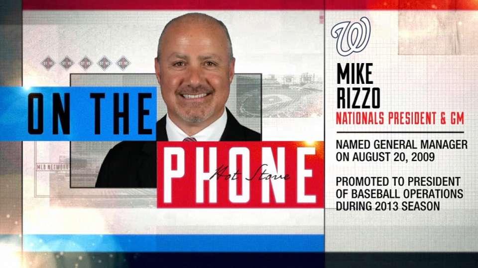 Nats GM Rizzo on MVP Harper