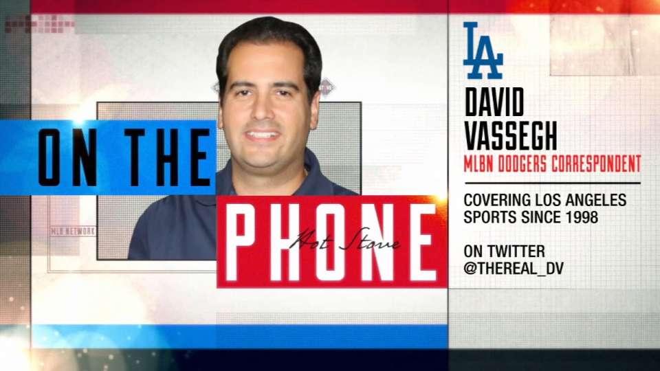Vassegh talks Dodger baseball
