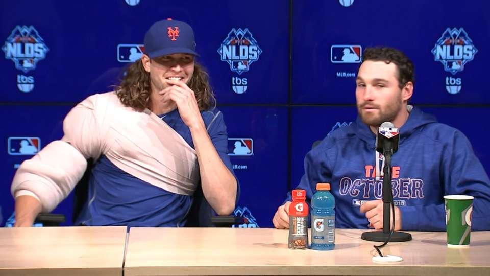 Best MLB Interview: deGrom, Mets