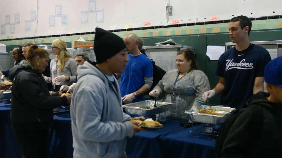 Yankees serve up feast in Bronx