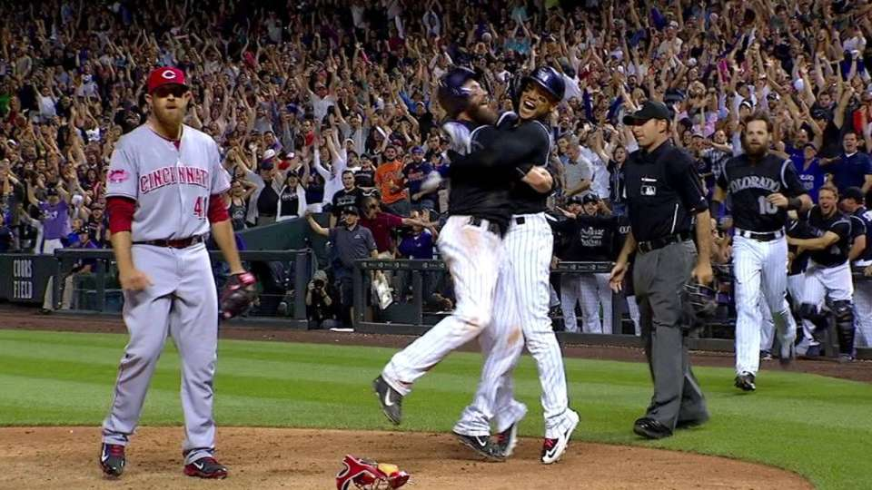 Rox walk off on wild pitch