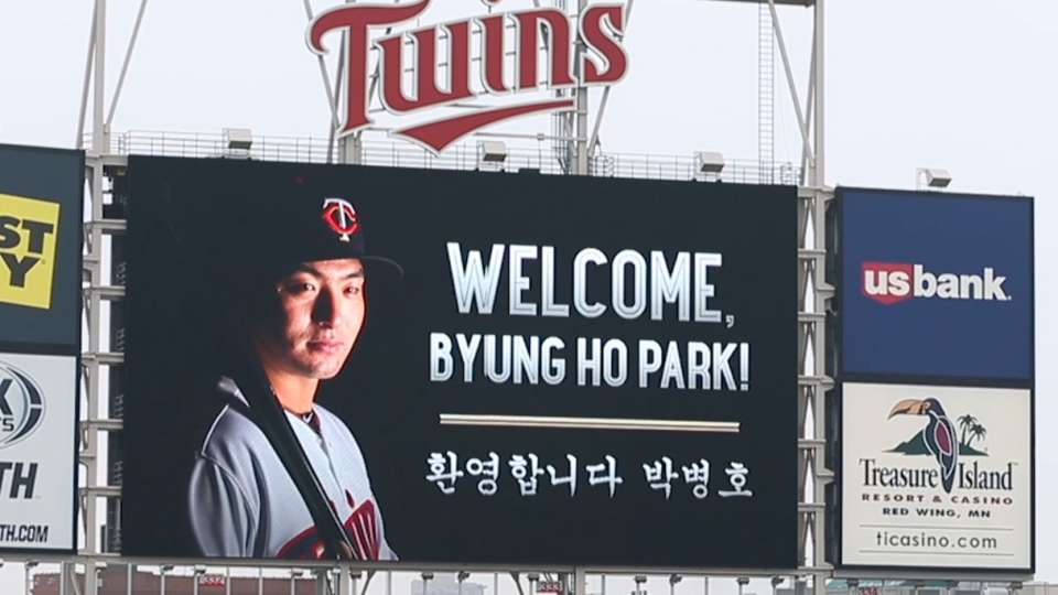 Twins welcome Byung Ho Park