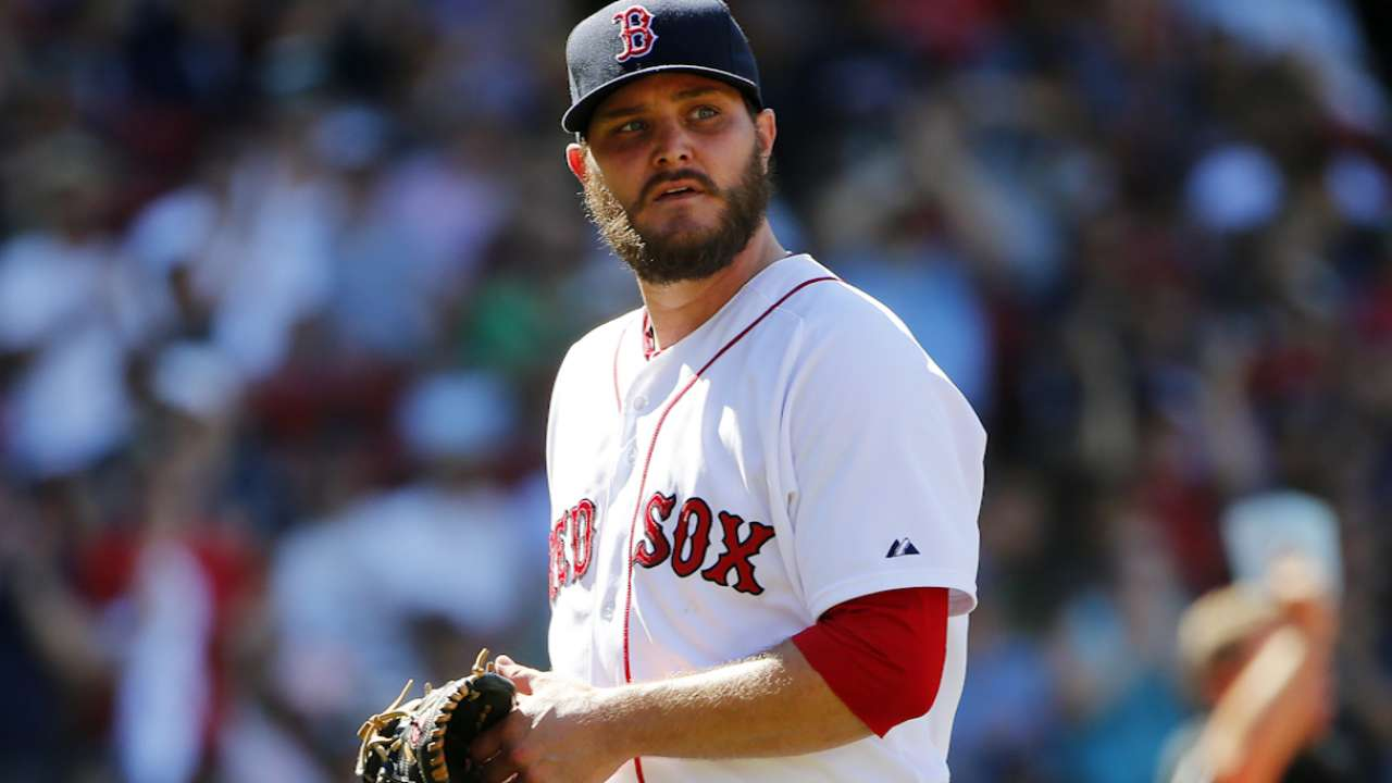 Red Sox Trade Wade Miley For Carson Smith Mlbcom