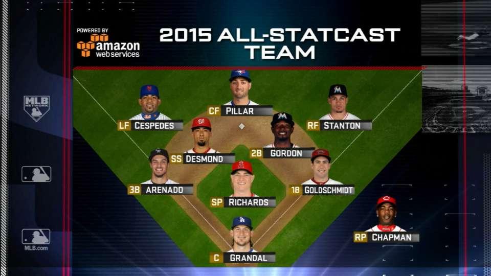 MLB's All-Statcast Team