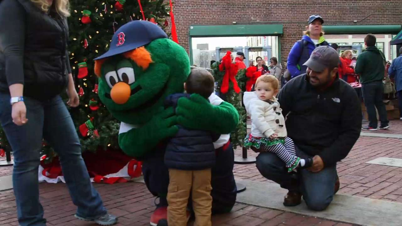 Christmas at Fenway 2015 | Red Sox