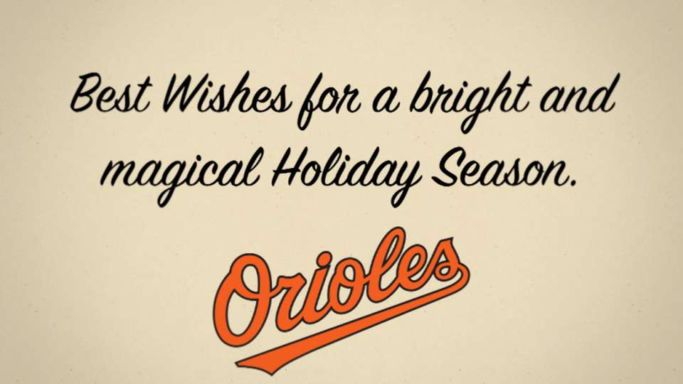 Orioles 2015 holiday card