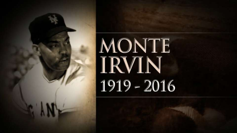 MLB Now remembers Monte Irvin