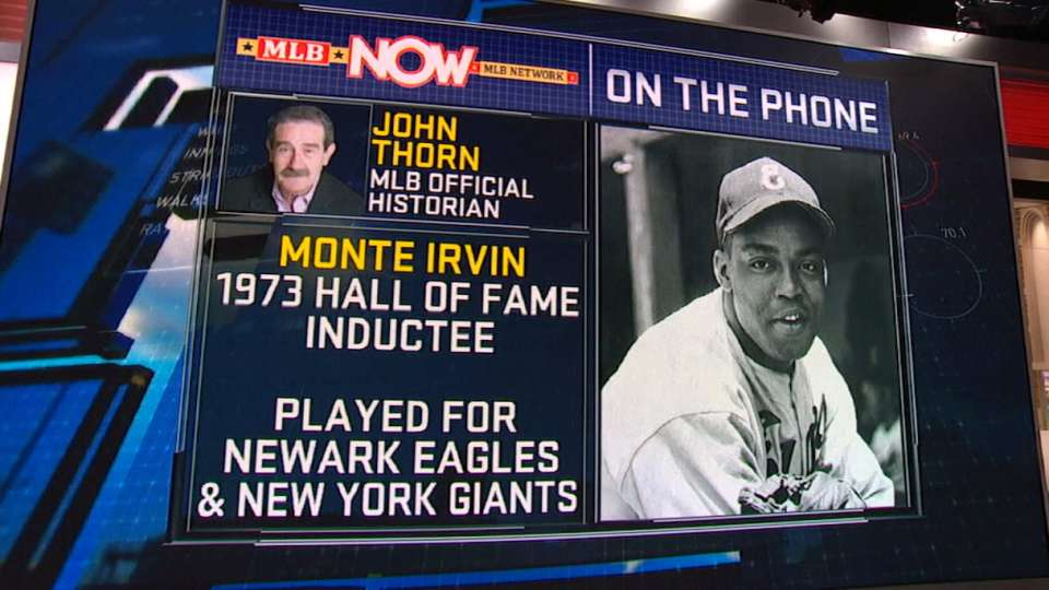 Thorn on Monte Irvin's legacy
