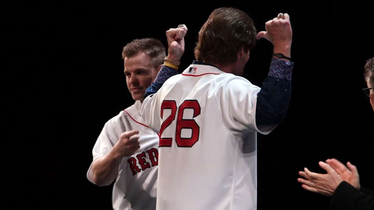 sports shoes fd3f6 cc999 Red Sox retire Wade Boggs' number | MLB.com