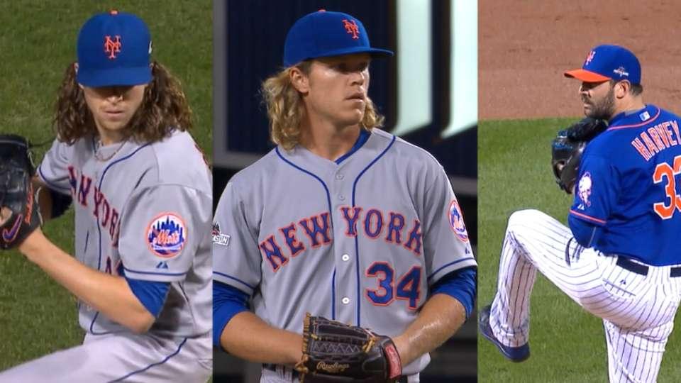 Mets flaunt three-headed monster