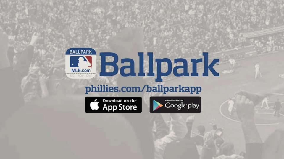 MLB.com Ballpark App Ticketing