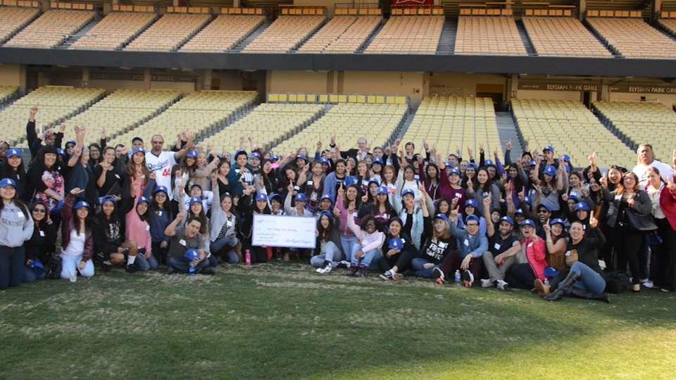 Dodgers host Girls Academy