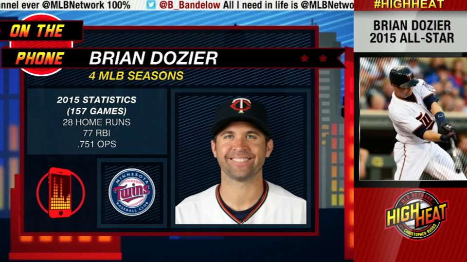 Dozier on Twins Caravan, '16