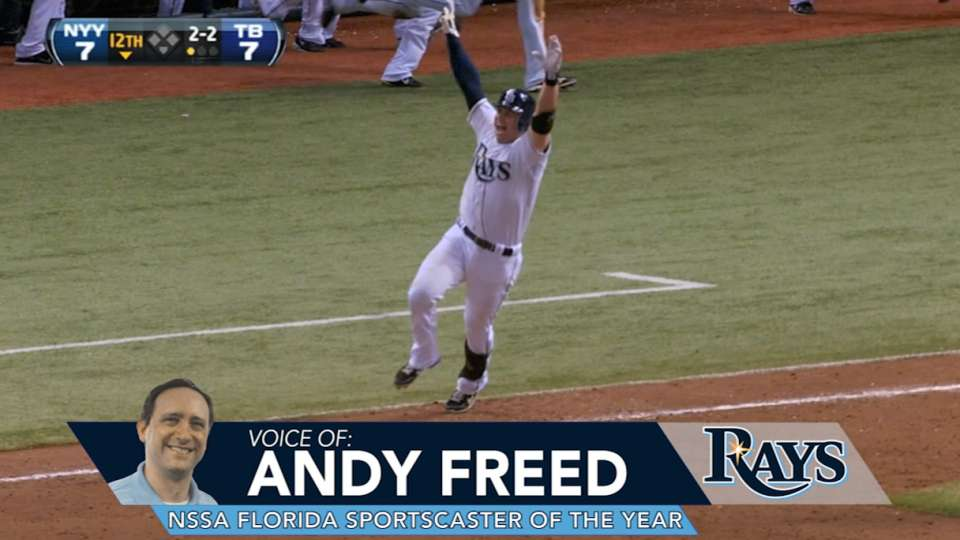 Congrats to Andy Freed