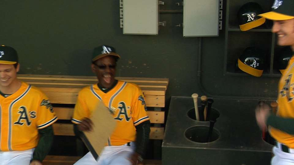 2016 A's Commercial Shoot Day 1