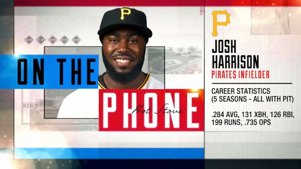 Harrison calls in to Hot Stove