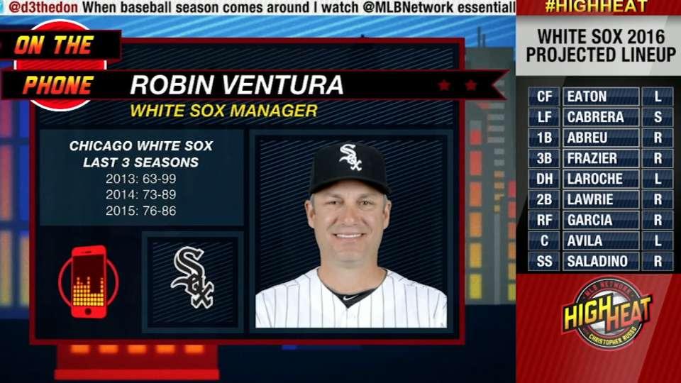 Ventura on White Sox new squad