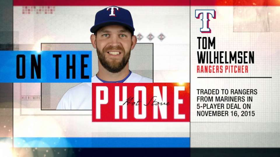 Wilhelmsen discusses the Rangers