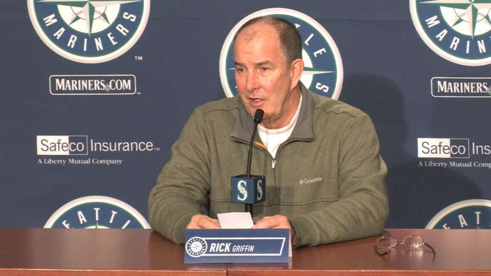 Griffin on Mariners' health