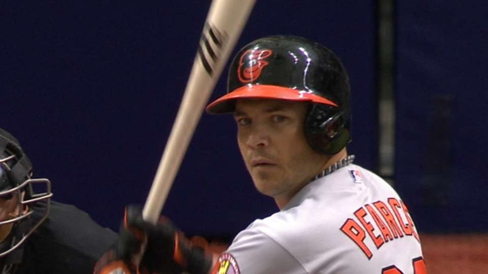Pearce loves Tropicana Field
