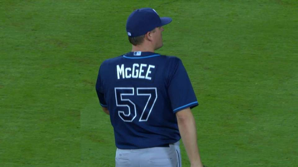 Bridich on trade for McGee