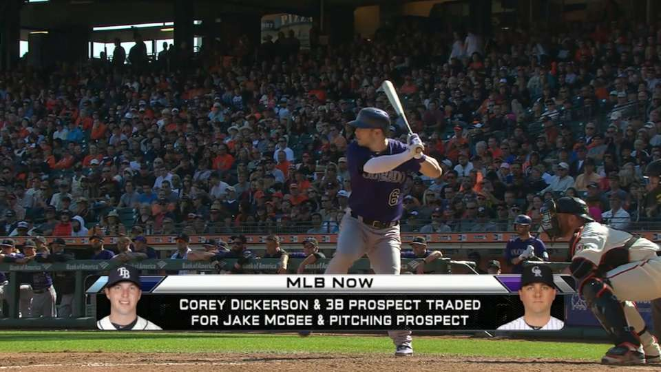 MLB Now: Rockies and Rays trade