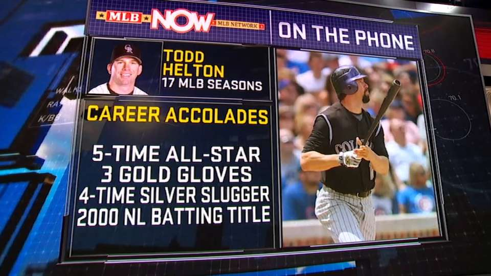 MLB Now: Todd Helton