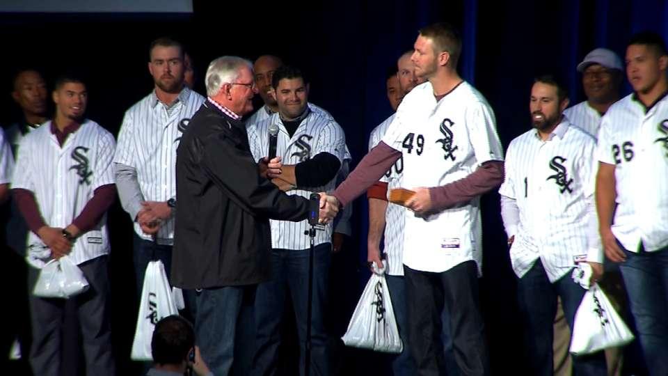 White Sox honor Chris Sale