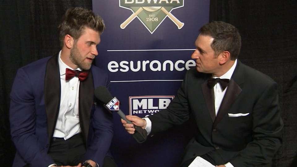 Harper on being NL MVP