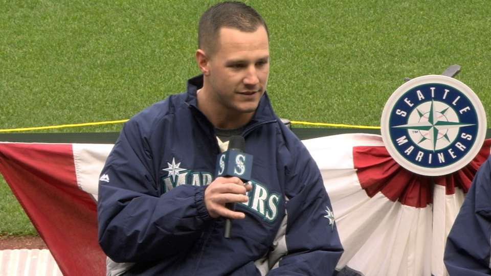 Mariners prospects at FanFest