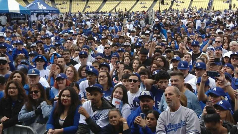 Dodgers at FanFest