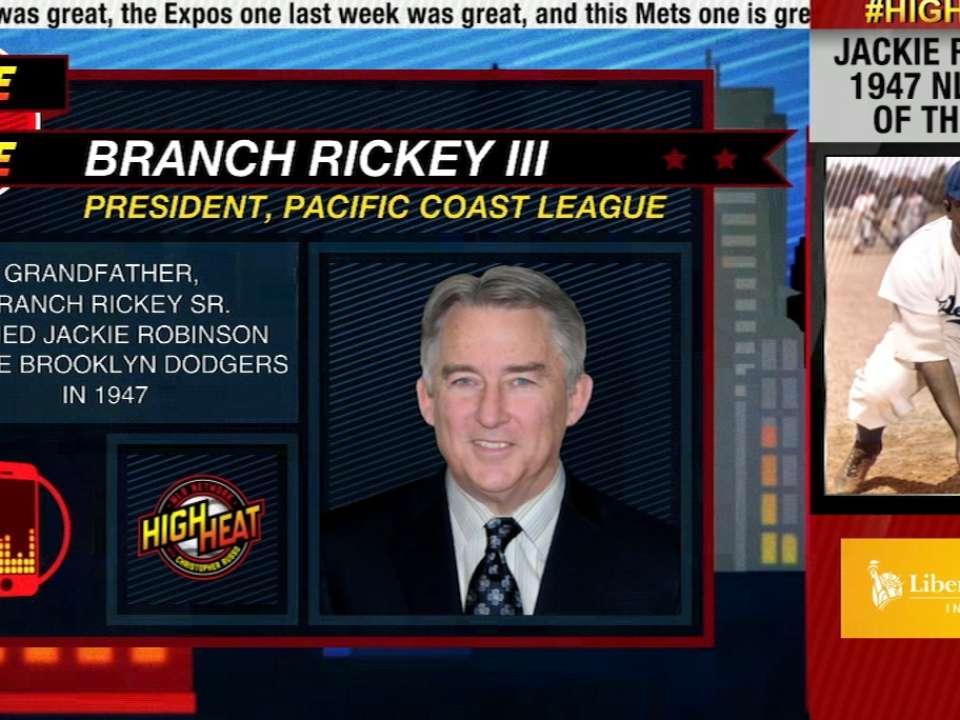 High Heat: Branch Rickey III