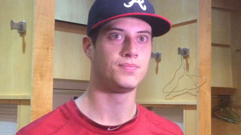 Wisler on improving his changeup