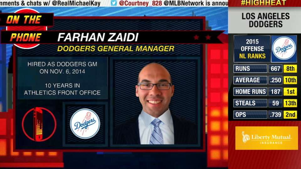High Heat: Farhan Zaidi