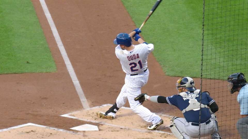 Outlook: Duda, 1B, NYM