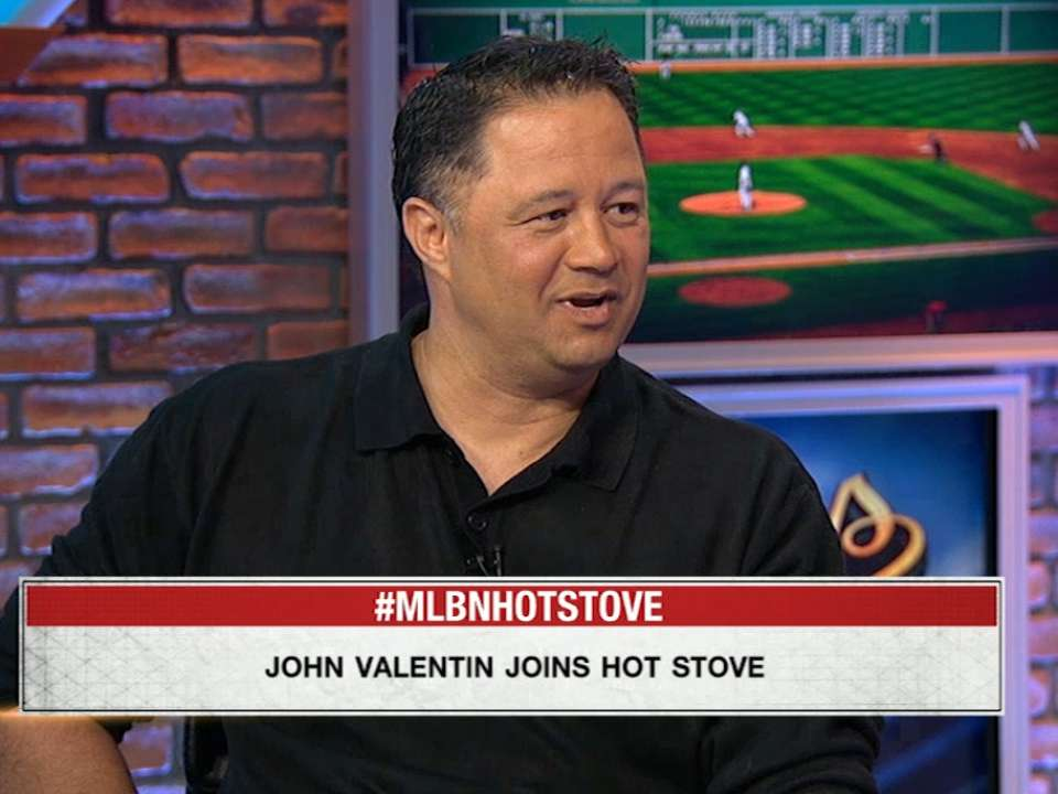 Valentin Joins Hot Stove | MLB.com