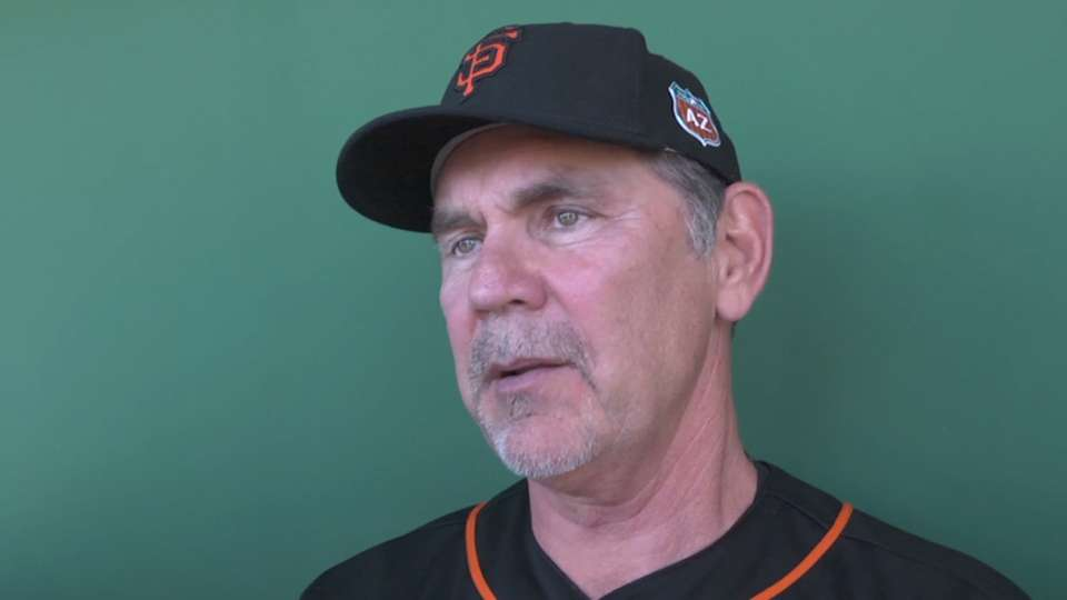 Bochy on early decision making